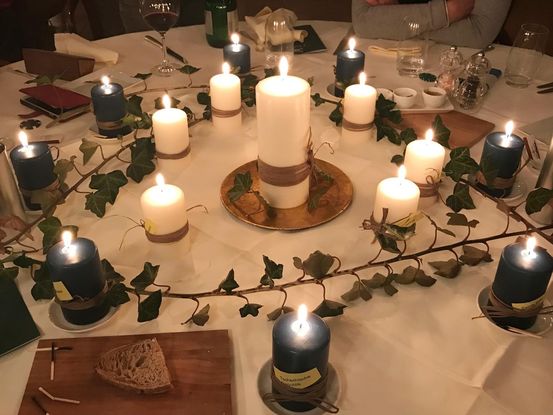 Referat an der Kerzenlichtfeier des BPW-Clubs Aarau